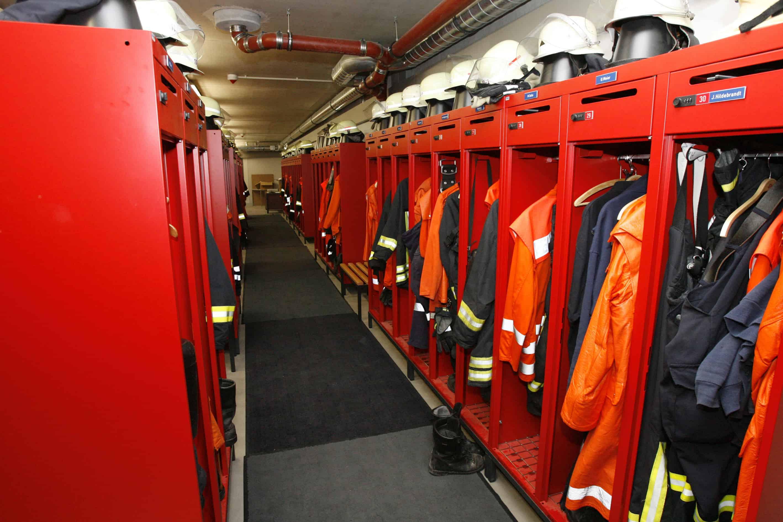 Symbolbild Feuerwehr Umkleide